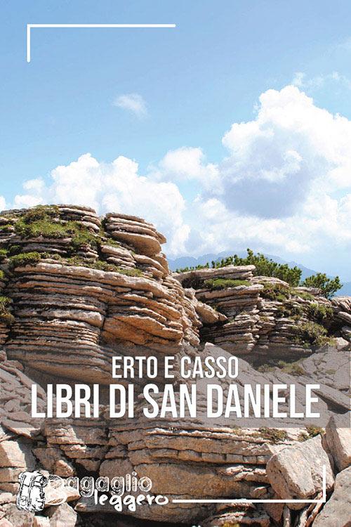Erto e Casso: Libri di San Daniele e Monte Borgà pin