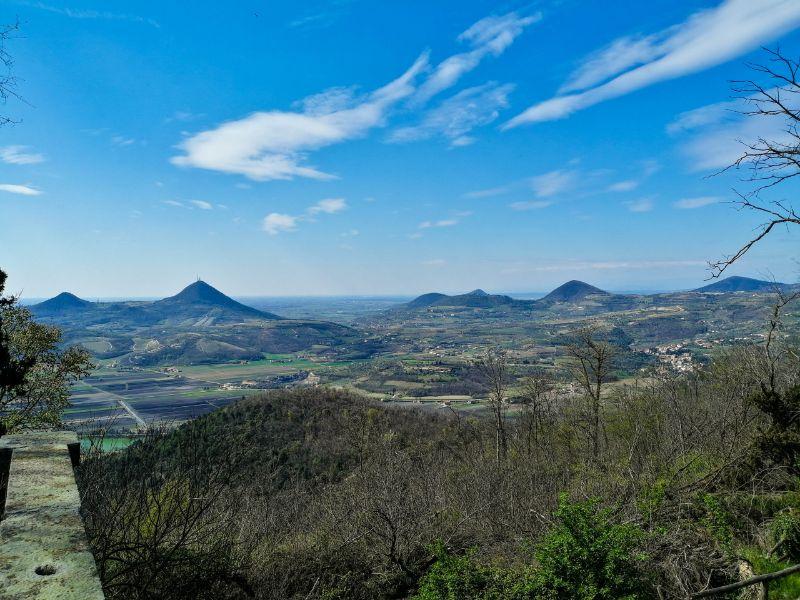 Panorama dei Colli Euganei