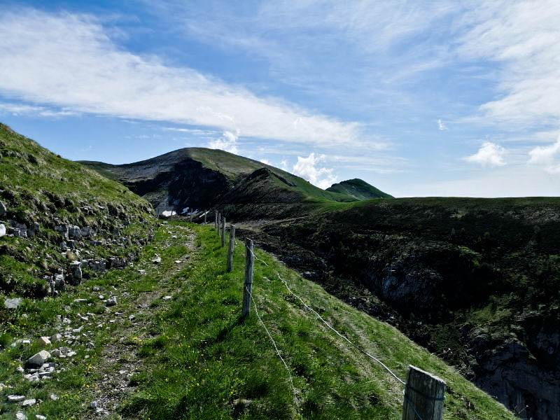 Sentiero circhi delle vette