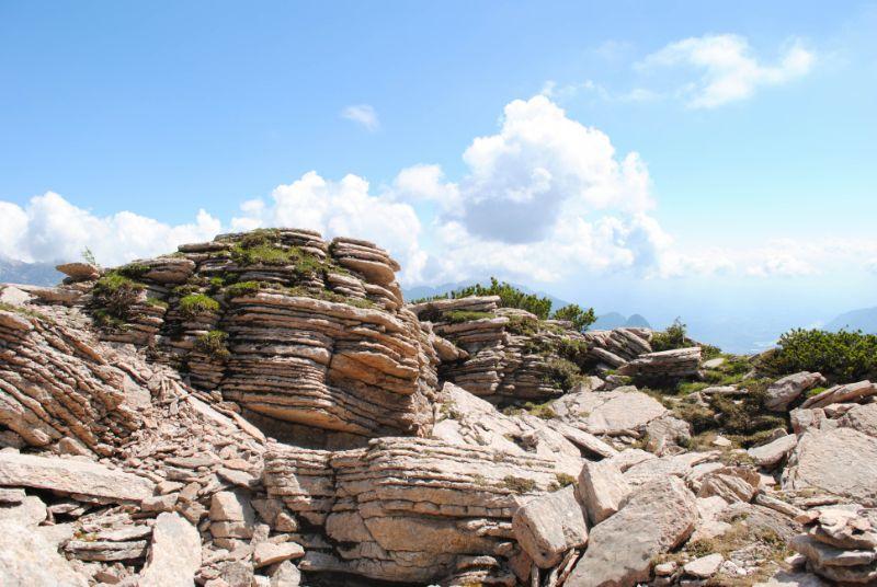 trekking ad anello verso i libri di san daniele e monte borgà