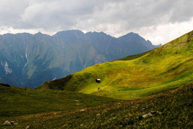 morbidi panorami Valle Aurina