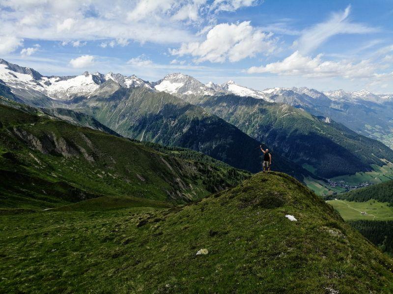 Panorami sulla valle di Rio Bianco