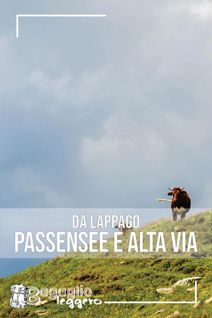Da Lappago al Passensee e sull'alta via di Fundres pin