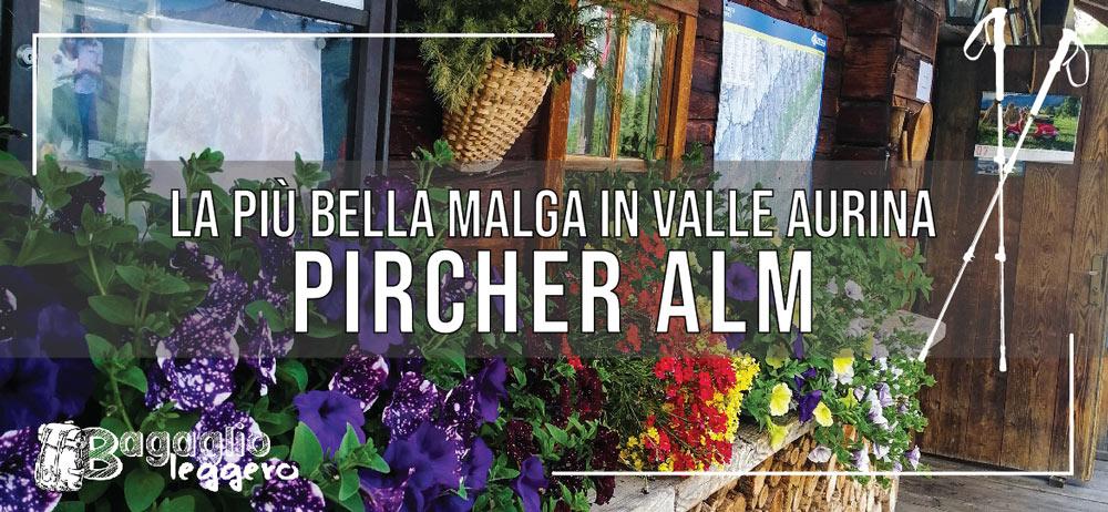 Pircher Alm malga in Valle Aurina