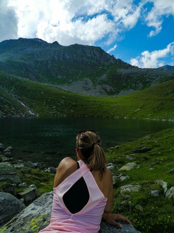 Silvia al Lago Tristensee