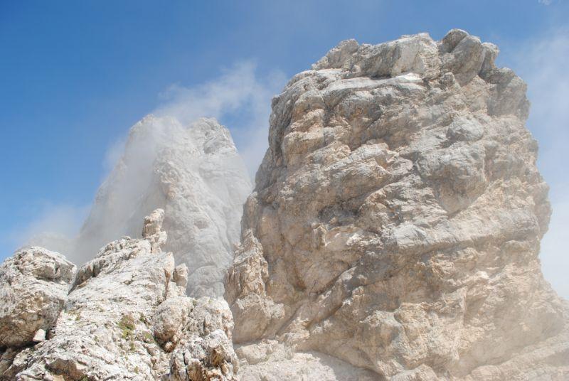 Speroni di roccia sulle Marmarole