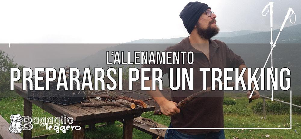 trekking lungo: come allenarsi per la montagna