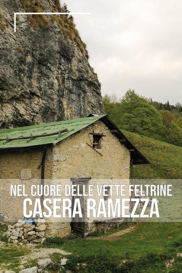 Casera Ramezza: nel cuore delle Vette Feltrine pin