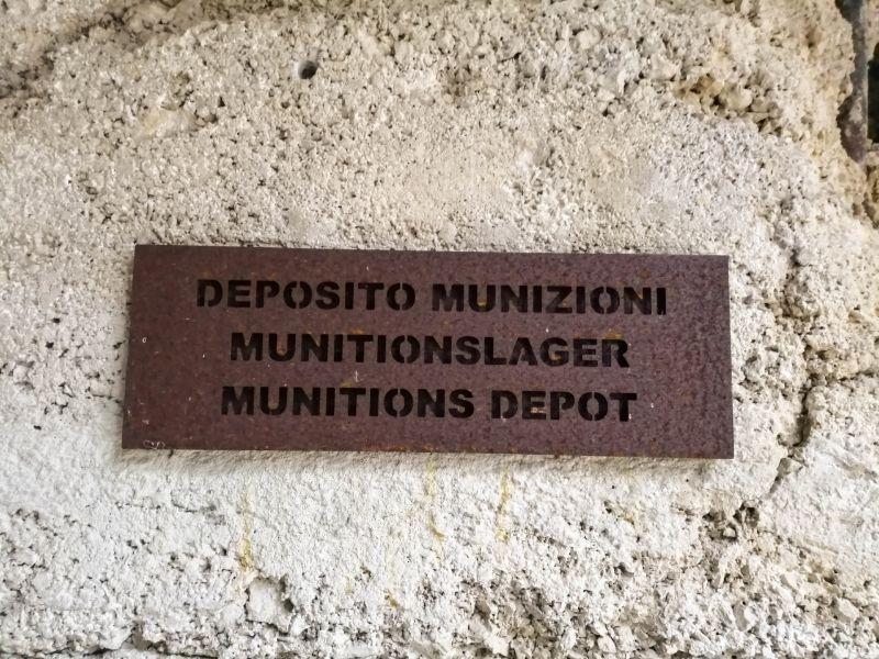deposito munizioni