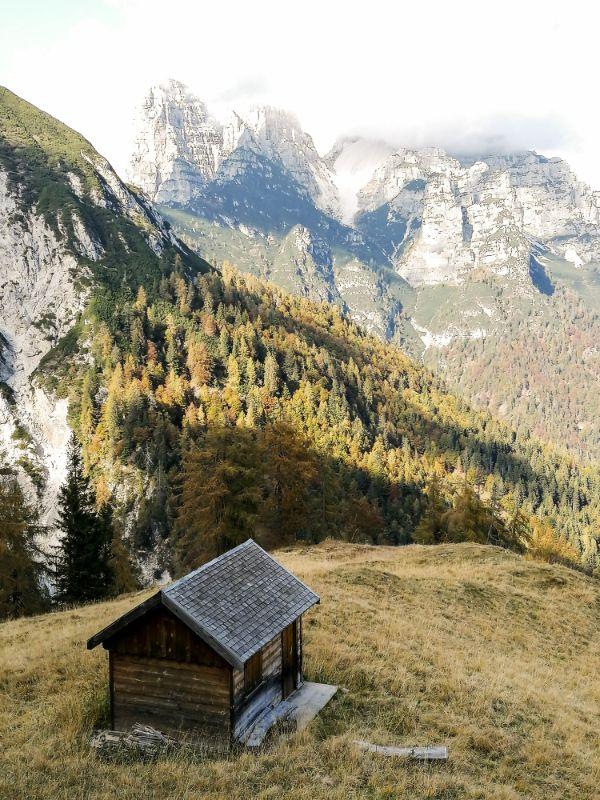Foliage nelle Dolomiti Veneto