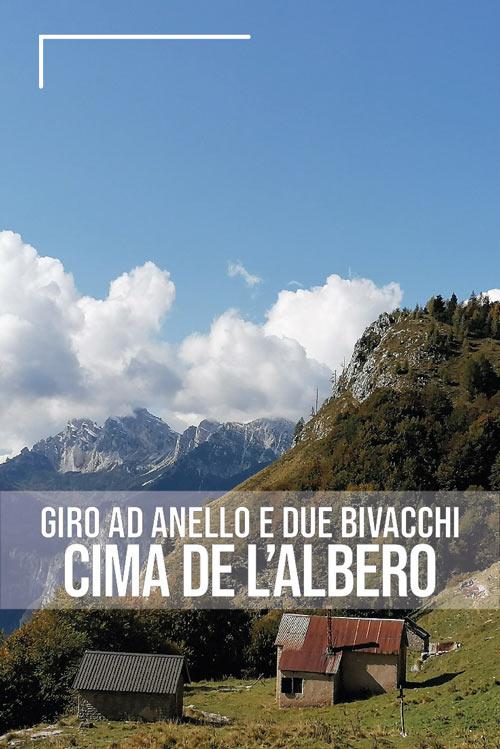 Giro ad anello di cima de l'Albero pin