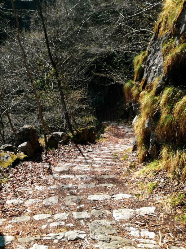 sentiero dei 4444 gradini