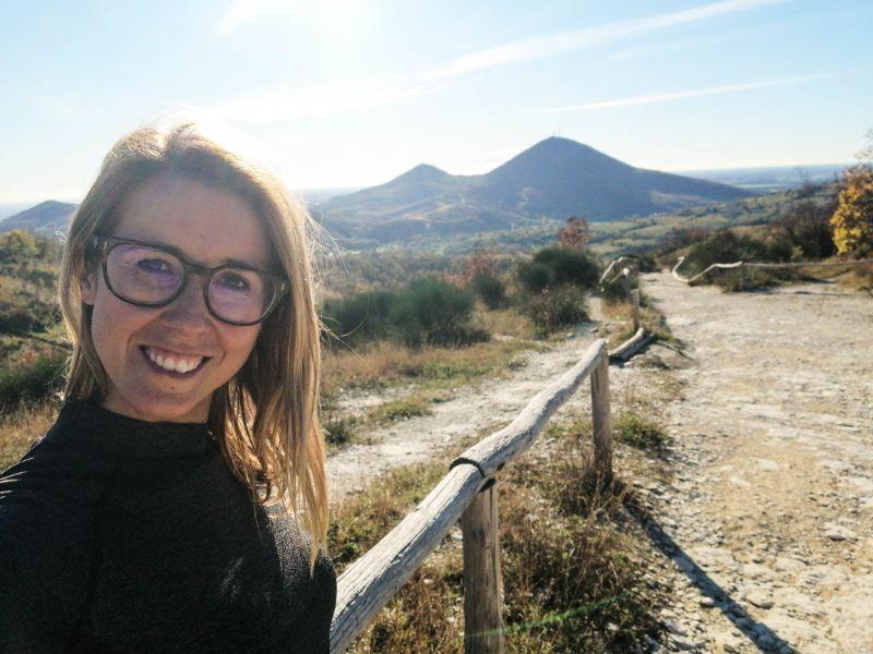 Silvia lungo i sentieri dei Colli Euganei