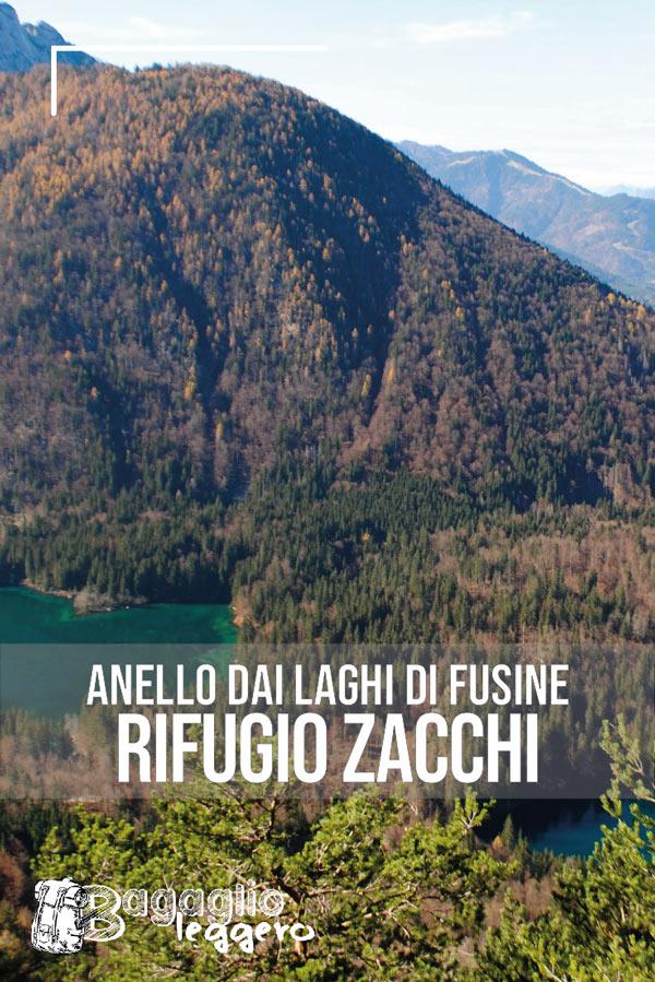 Anello del Rifugio Zacchi per i Laghi di Fusine pin