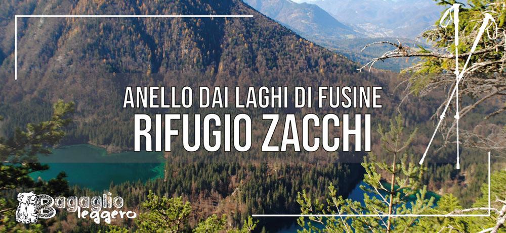 Anello del Rifugio Zacchi per i Laghi di Fusine