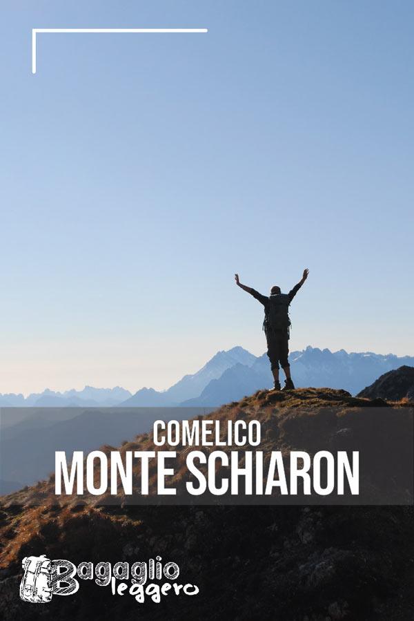 Monte Schiaron, Val Vissada, Comelico pin