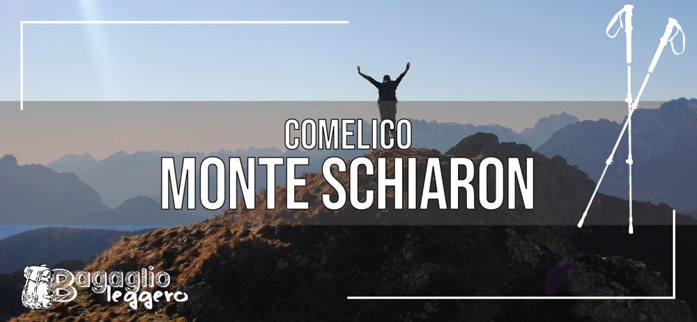 Monte Schiaron, Val Vissada, Comelico