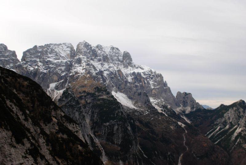panorama lungo il sentiero Martinolli