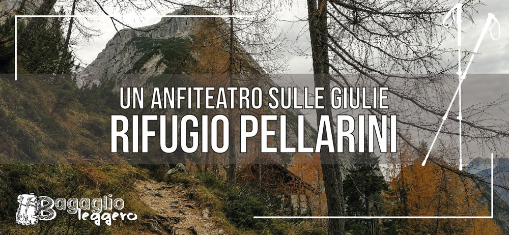 Rifugio Pellarini sulle Alpi Giulie