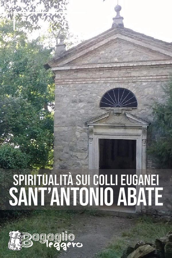 Chiesetta di Sant'Antonio Abate sopra Teolo sul Monte della Madonna pin