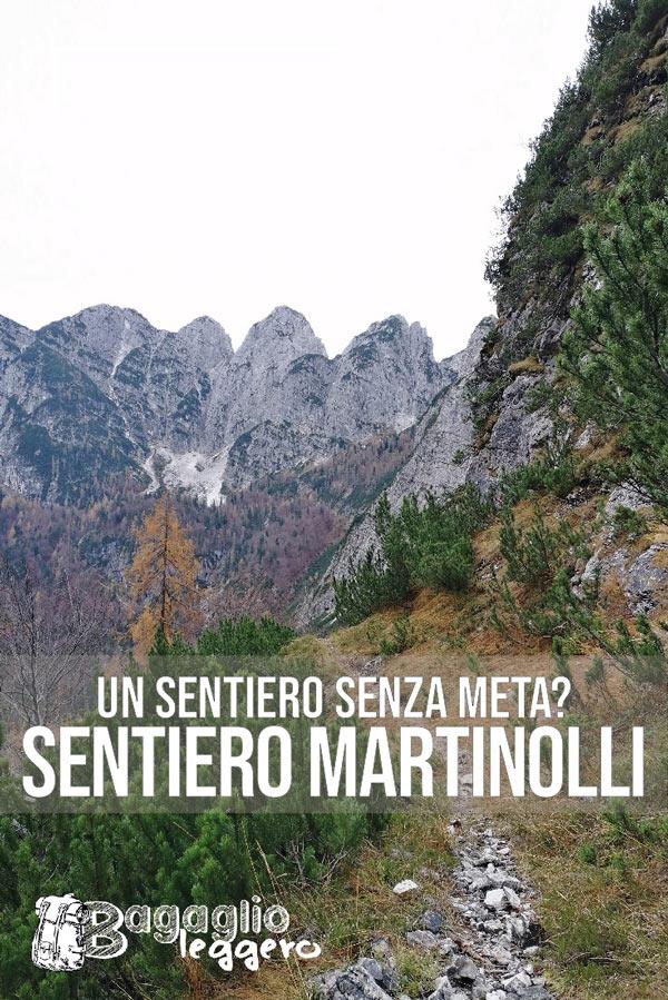 Sentiero Martinolli nel Tarvisiano - FVG - Pin