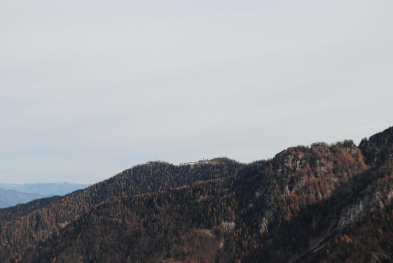 vista sul Monte Lussari