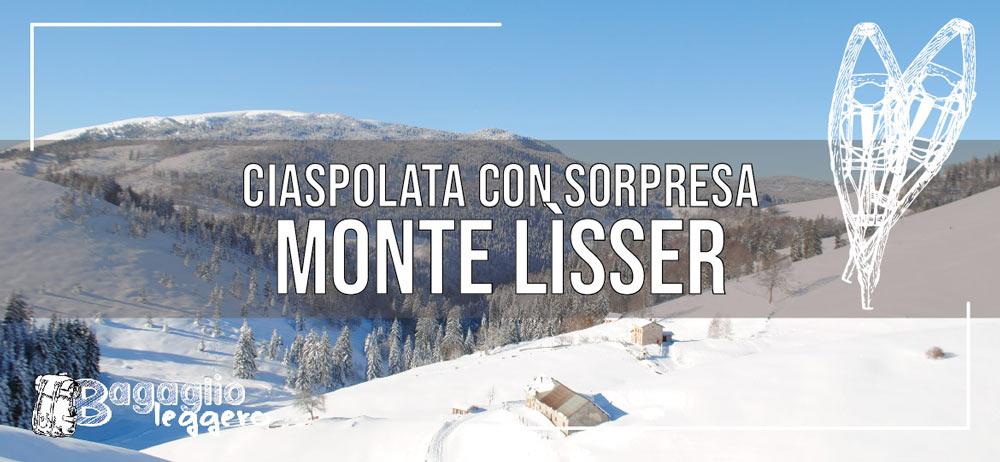 Ciaspolata con sorpresa al Monte Lìsser a Enego