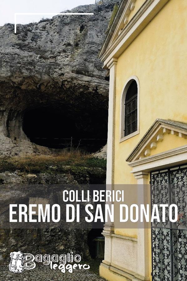 Covoli ed Eremo di San Donato sui Colli Berici a Villaga pin