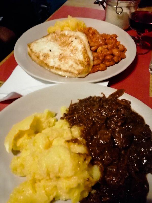 cena al rifugio Verena