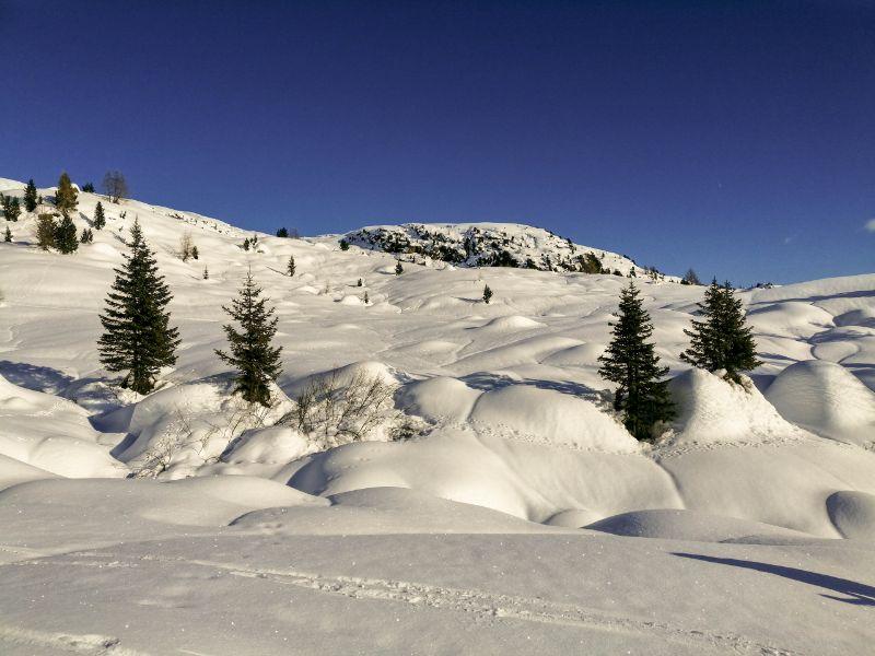 ciaspolata in Trentino a cima Juribrutto