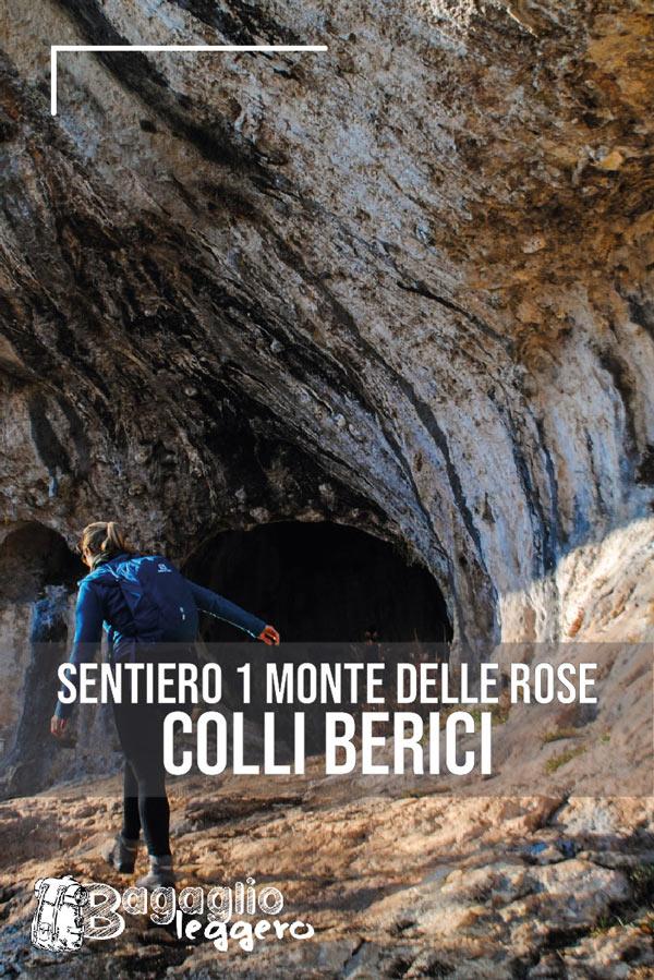 Monte delle Rose da Castagnero: Sentiero 1 e Grotta del Ritiro pin