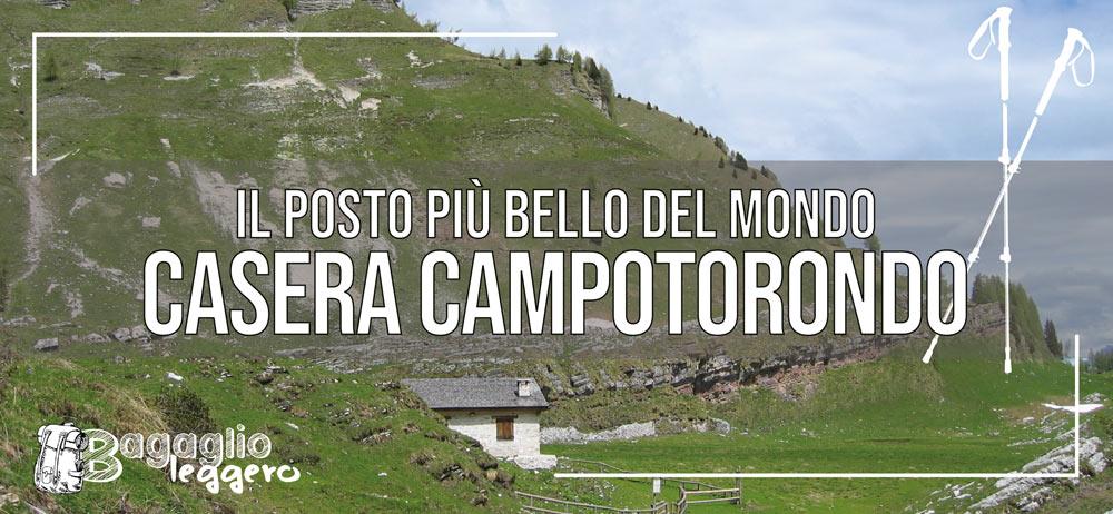 Casera bivacco Campotorondo sulle Vette Feltrine