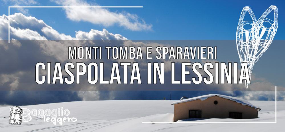 Ciaspolata in Lessinia al monte Tomba e Sparavieri
