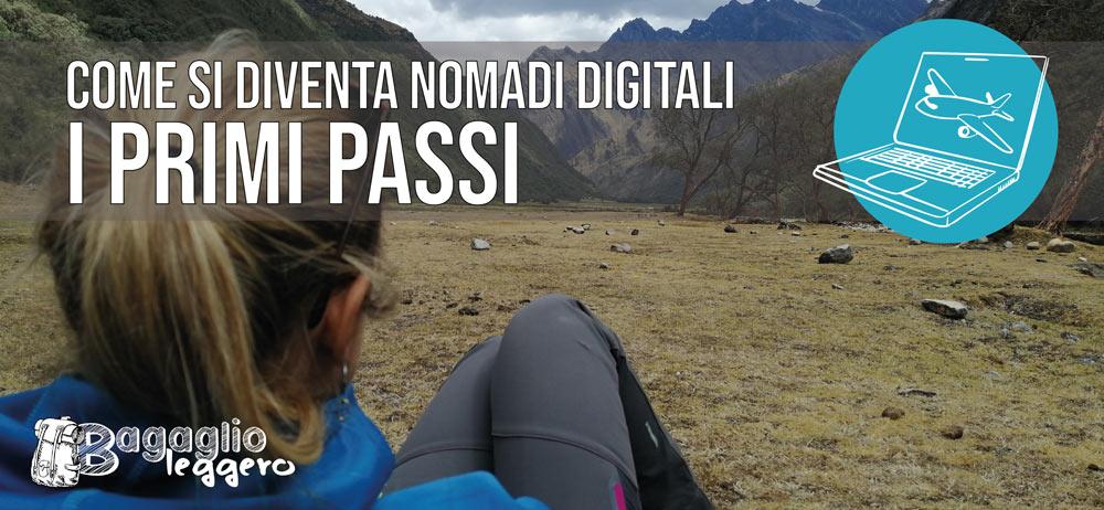 Diventare nomadi digitali: i primi passi