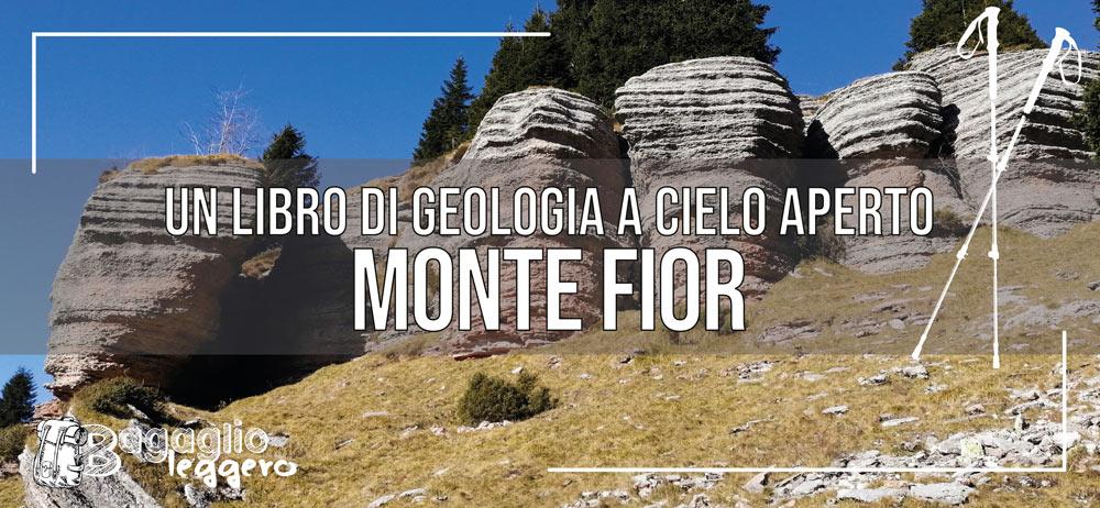 Monte Fior, il libro di geologia a cielo aperto in Altopiano