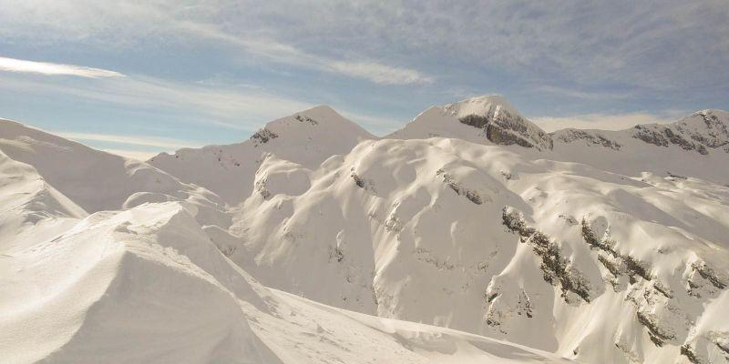 panorami Alpago innevato